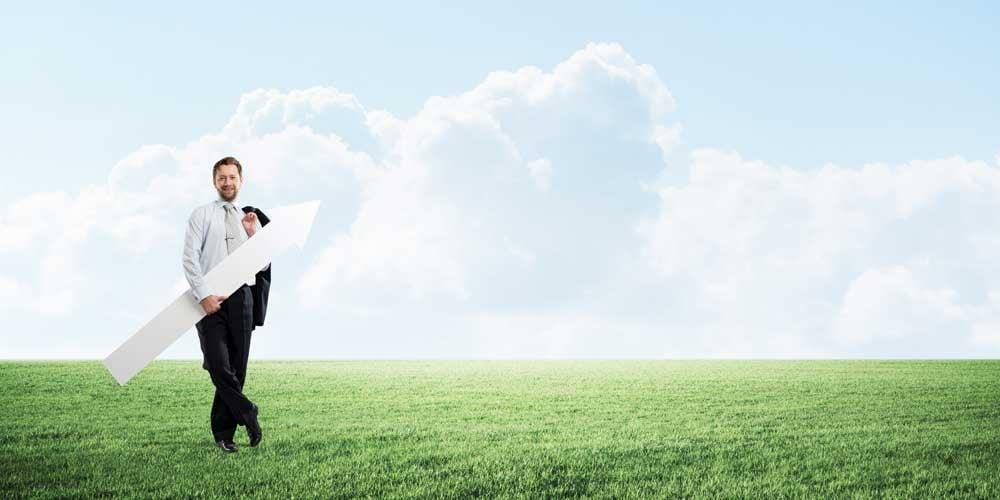 Bringen Sie Ihr Business einfach wie nie in die Cloud