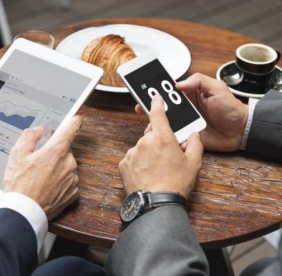 Kaffee-Breakfast-Brunch-Frühstück-iPad-iPhone