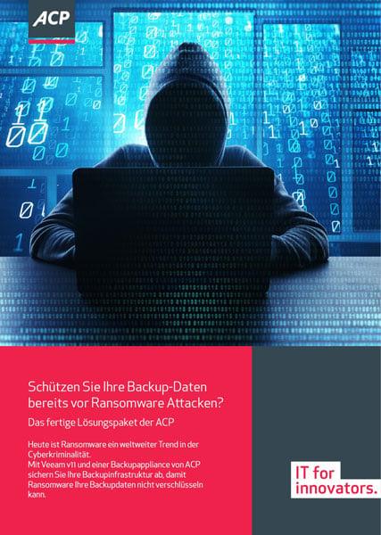 ACP Flyer Coverbild Schützen Sie Ihre Backup Daten