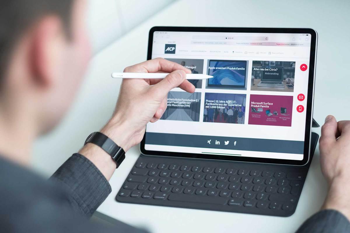 iPad-in-Unternehmen