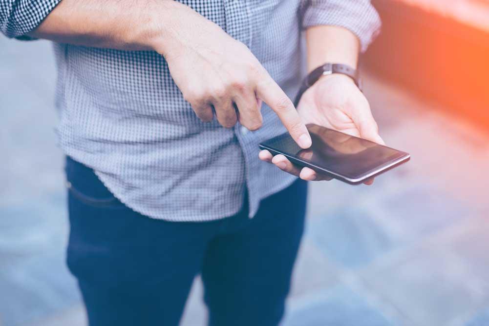 Passwortlose Authentifizierung SMS Global Service