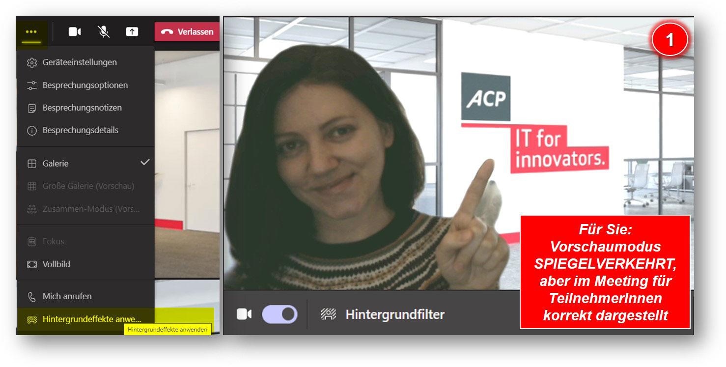 Meeting-Hintergrundbilder für den perfekten Video-Auftritt