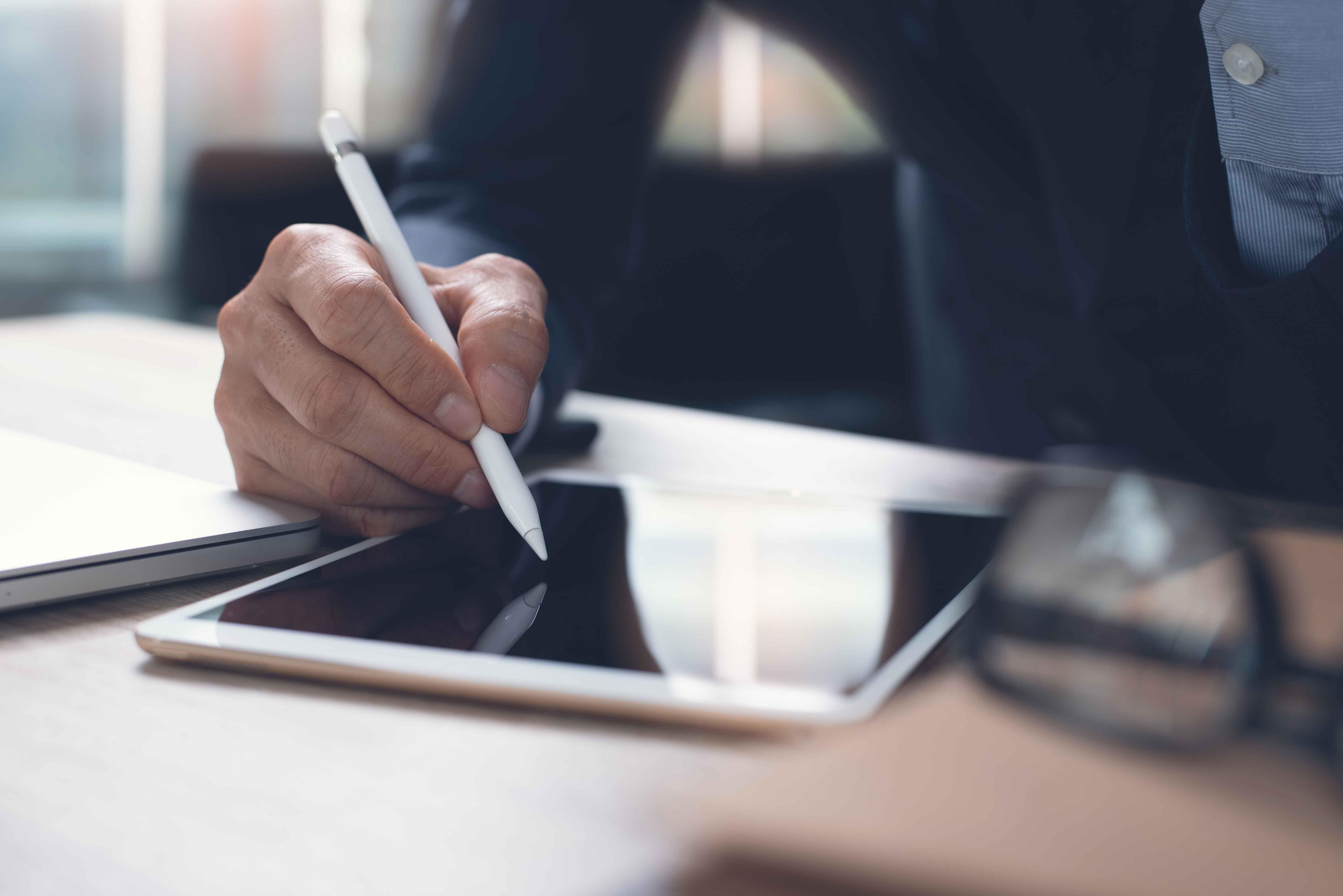 Unterschreiben ohne ausdrucken - sicher und bequem